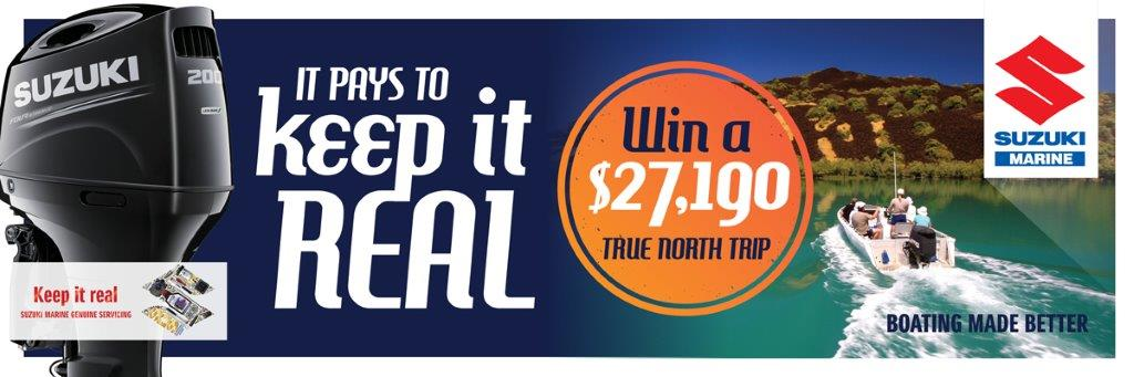 keep it real suzuki marine win a $27,190 true north trip